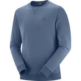 Salomon Shift Pullover A Girocollo Uomo, dark denim/night sky